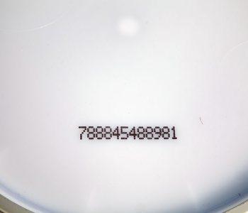 serial number on lid
