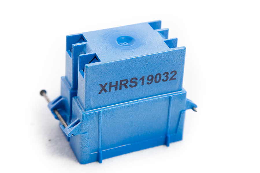 plastic part with part number