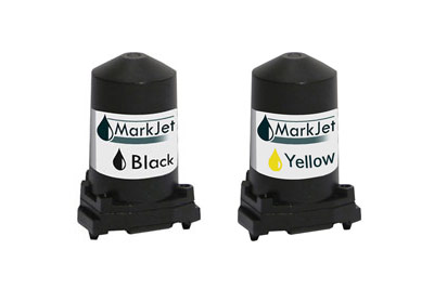 Black and Yellow Solvent-Based Ink