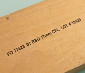CAMI printing on lumber